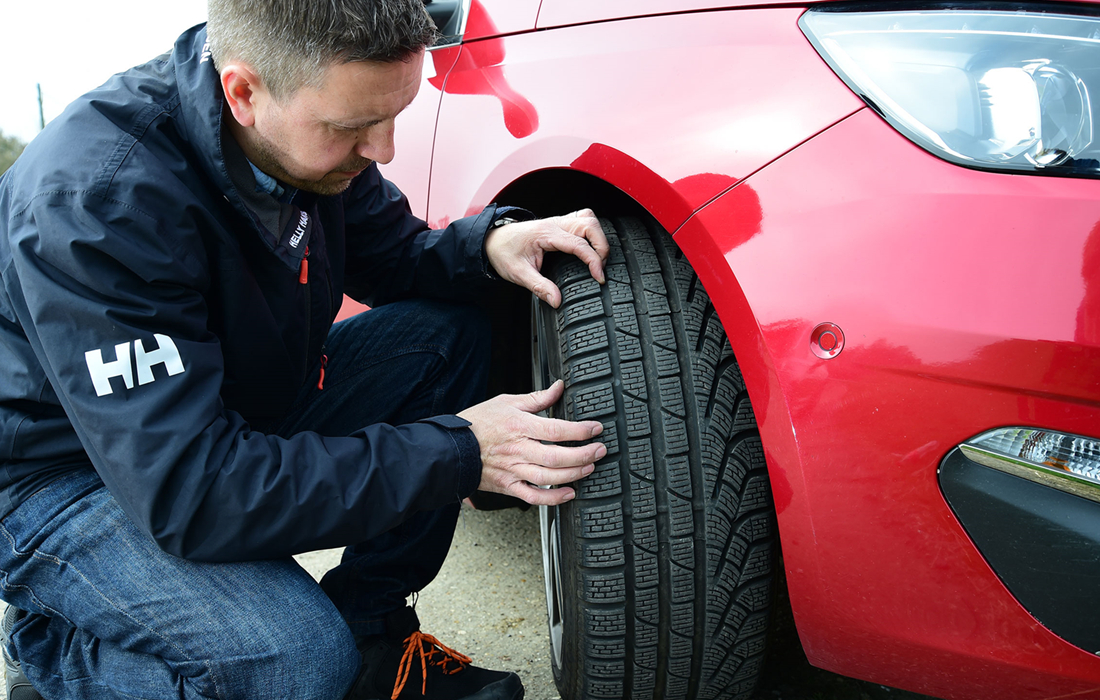 Good Car Tires Safety Check.